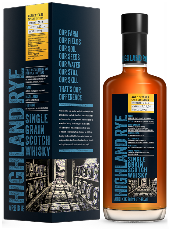 Arbikie Single Grain Scotch Whisky