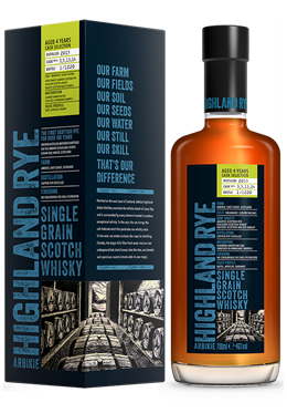 Highland Rye Whisky coming in 2019